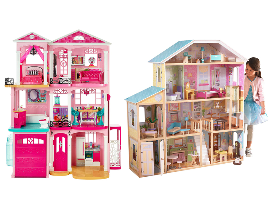 Barbie Dream House Vs Kidkraft Dollhouse Thetoytree Net
